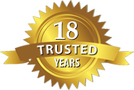 18 Years of Trusted Service